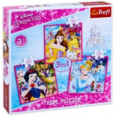 Trefl  1000 - Princess x 3in1