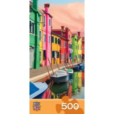 Master Pieces 500 - Colorful buildings