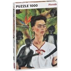 Пъзел Piatnik от 1000 части - Автопортрет Фрида Кало