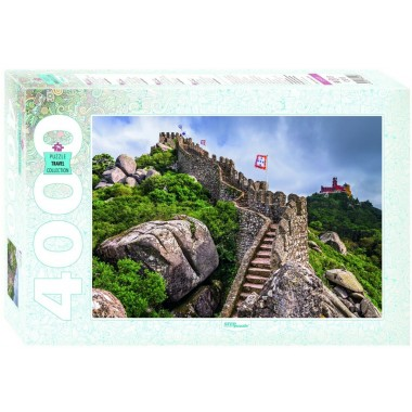 Step Puzzle 4000 - Castle of the Moors, Portugal