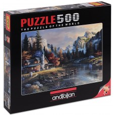 Puzzle Anatolian 500 - House in the Valley, James Lee