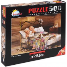 Puzzle Anatolian 500 - There is no better place than home, Diane Denggle