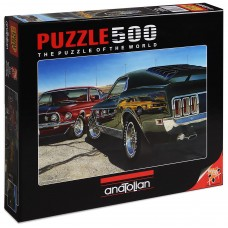 Puzzle Anatolian 500 - Fast Cars, Michael Irvin
