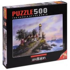 Puzzle Anatolian 500 - Captain's Bay, Dennis Lewan