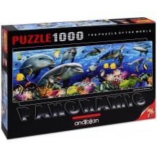 Anatolian 1000  - Underwater, Howard Robinson, - Panoramic puzzle