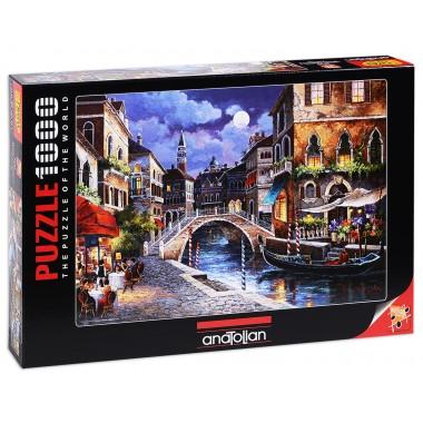 Puzzle Anatolian  1000  -  Venetian Street, James Lee