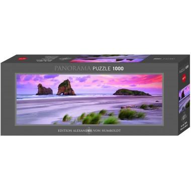 Heye  1000  - Varariki Beach, New Zealand, - Panoramic Puzzle