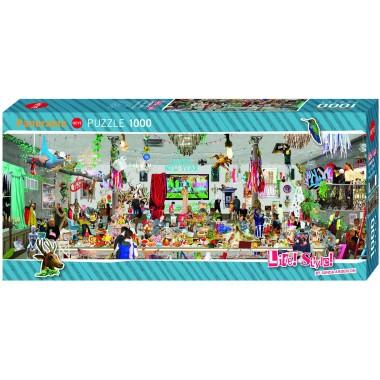 Heye  1000 - New Year's Eve, Sanda Anderson, - Panoramic Puzzle