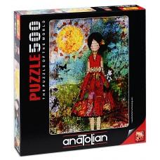 Puzzle Anatolian 500 - Sunny girl, Jeanne Nicole