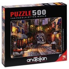 Puzzle Anatolian 500 - Street in France, Dominic Davison