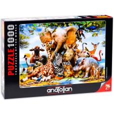 Puzzle Anatolian 1000 - Smiles from Africa, Howard Robinson