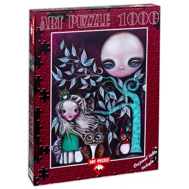 Puzzle Art  1000  -  Night Creatures, Abril Andrade