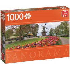 Jumbo  1000  -  Kokenhoff, The Netherlands, - Panoramic puzzle
