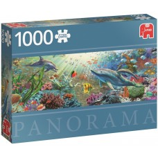 Jumbo 1000  -  Water paradise,  - Panoramic puzzle
