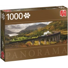 Jumbo  1000  -  The Glenfinnan Viaduct, - Panoramic puzzle