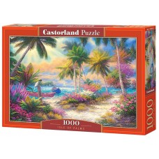 Castorland  1000  - The Palm Island, Chuck Pinson
