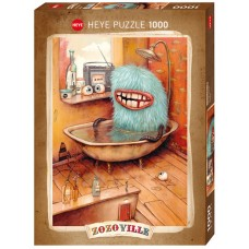 Heye 1000 - And monsters take a bath, Zozoville