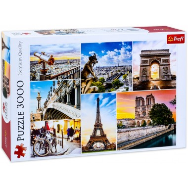 Trefl 3000 - The Magic of Paris