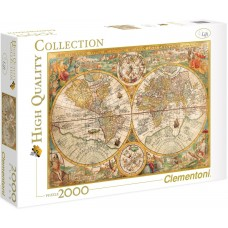 Clementoni 2000 - Ancient map of the world