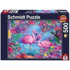 Schmidt 500 - Pink Flamingos