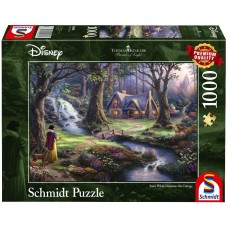Schmidt 1000 - Snow White finds the house in the woods, Thomas Kincaid