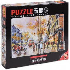 Puzzle Anatolian 500 - Evening in Istanbul, Noustret Desmosci