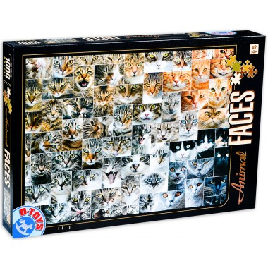 D-Toys 1000 - Animals, Cats, 74331
