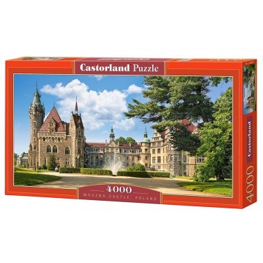 Castorland 4000 - The castle Mosznа in Poland