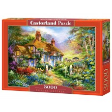 Castorland 3000 - Forest cottage