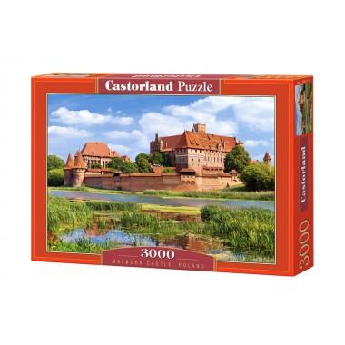 Castorland 3000 - Castle Malbork in Poland