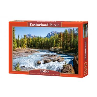 Castorland 1500 - River in Canada