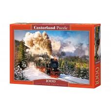 Castorland  1000  - Steam locomotive