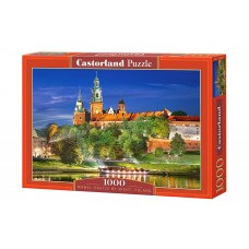 Castorland  1000  - Wawel Castle in Poland