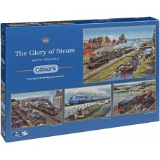 Gibsons 4 x 500 - The Glory of Steam, Barry Freeman