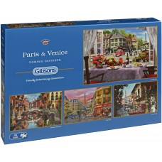 Gibsons 4 x 500 - Paris and Venice - Dominique Davison