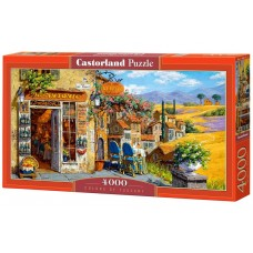 Castorland 4000 - The colors of Tuscany