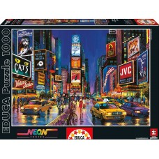 Educa  1000  - Times Square, New York, - Neon puzzle