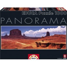 Educa  1000  - Valley of Monuments, USA, - Panoramic puzzle