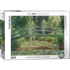 Eurographics 1000 - Japanese Bridge / Water Lilies, Claude Monet