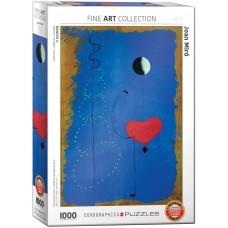 Eurographics 1000 - Blue Ballerina, Joan Miro