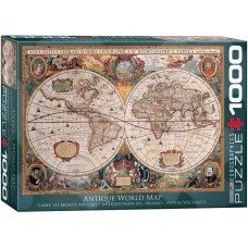Eurographics 1000 - Ancient World Map, Jan Yansson