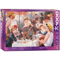 Eurographics 1000 - Lunch after boating, Pierre Auguste Renoir