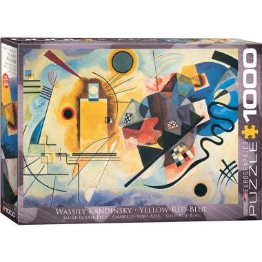 Eurographics 1000 - Yellow, Red, Blue, Vasily Kandinsky
