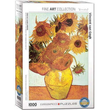 Eurographics 1000 - Twelve sunflowers, Vincent van Gogh