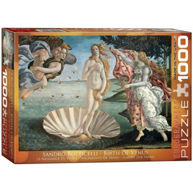 Eurographics 1000 - The Birth of Venus, Sandro Botticelli