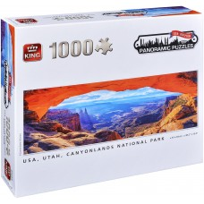 King  1000  -  Kenyonlands National Park, Susanne Kremer, - Panoramic Puzzle