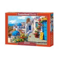 Castorland 2000 - Spring in Santorini