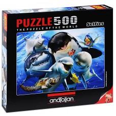 Puzzle Anatolian 500 - Ocean Relief, Howard Robinson
