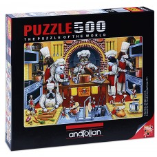 Puzzle Anatolian 500 - Cat Food, Don Roth