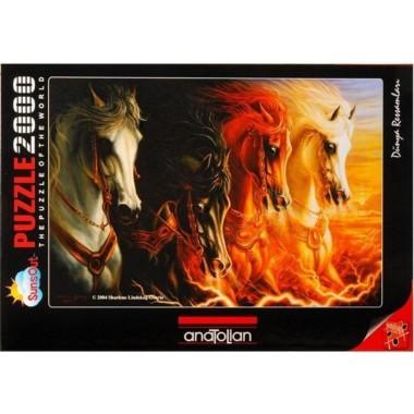 Anatolian 2000 - The Four Horses of the Apocalypse, Sharlene Lindskog-Osorio